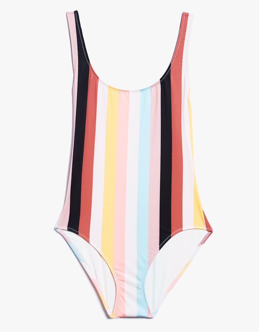 solid & striped - THE ANNE-MARIE MULTI-STRIPE $168