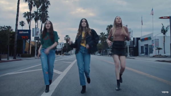"Watch Haim's video ""Want You Back"""