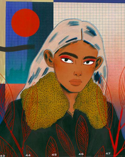 - MANJIT 🔷 illustrator