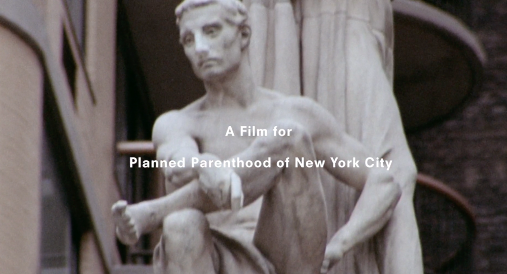 Proenza Schouler PSA for Planned Parenthood