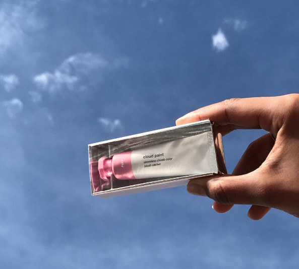 cloud paint via @glossier