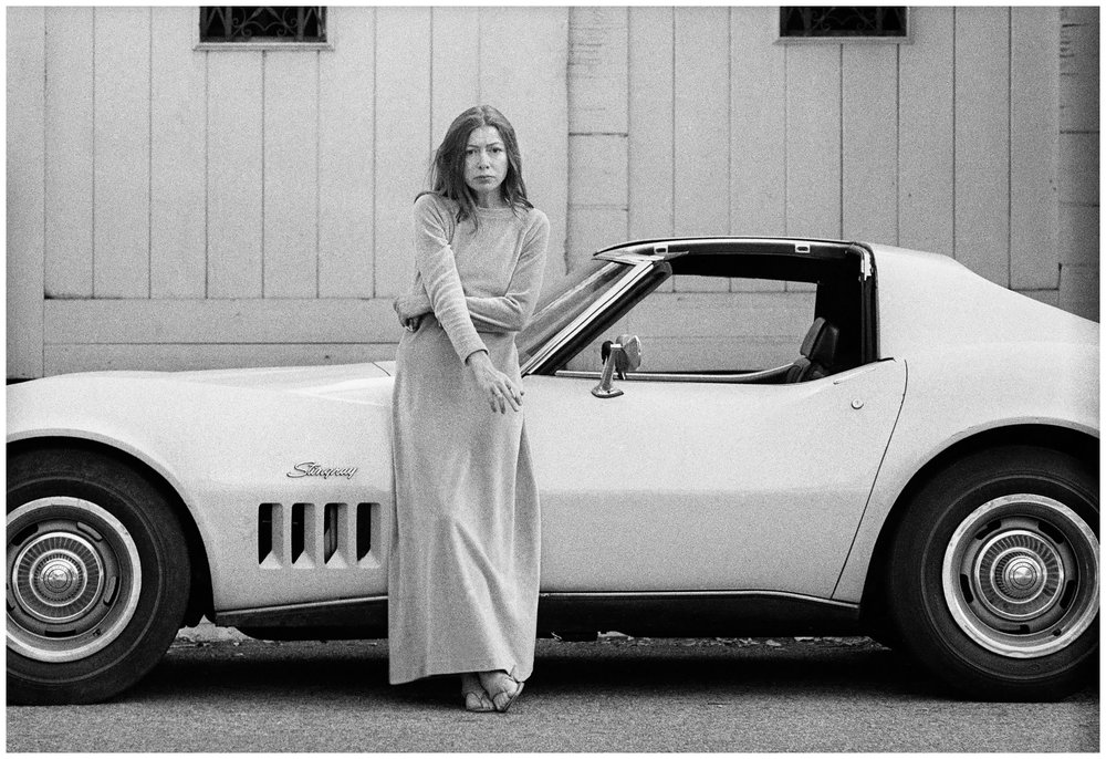 The enduring style of Joan Didion via DNAMAG