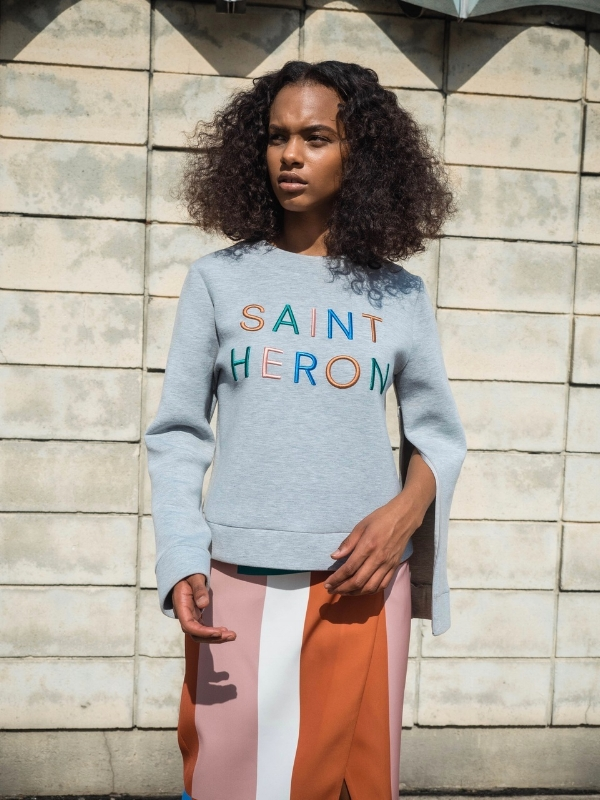 C/MEO for Saint Heron 'new phase' sweater