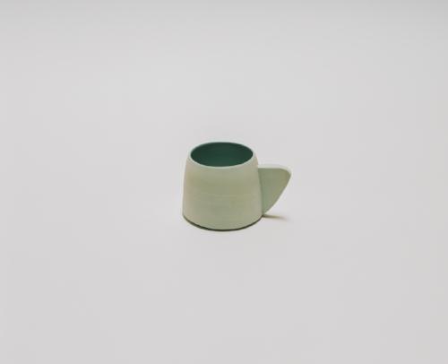 Saint Heron Ceramic Mug in powder blue