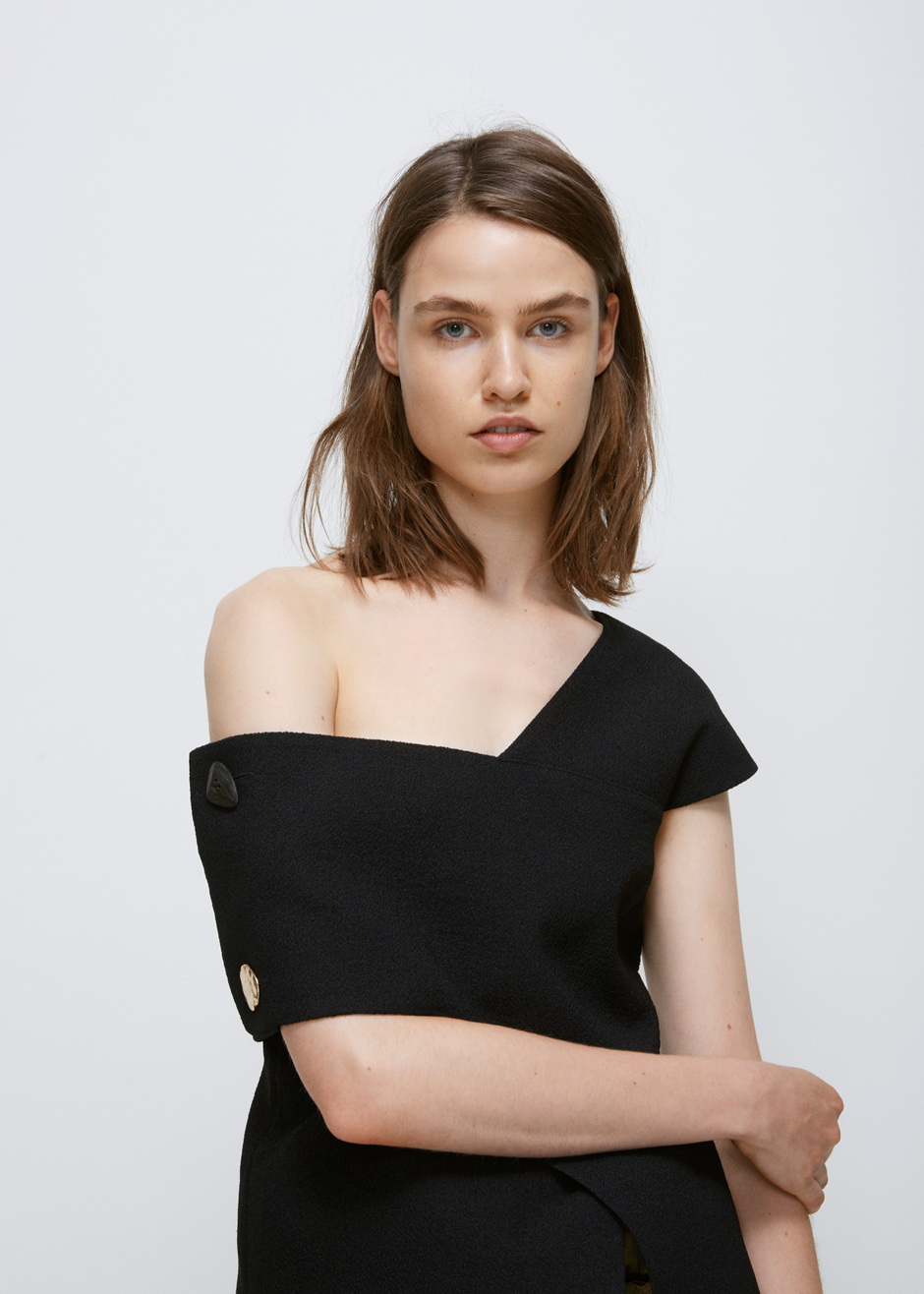 - ONE-SHOULDER WILLOW TOP $439 *photo via Totokaelo