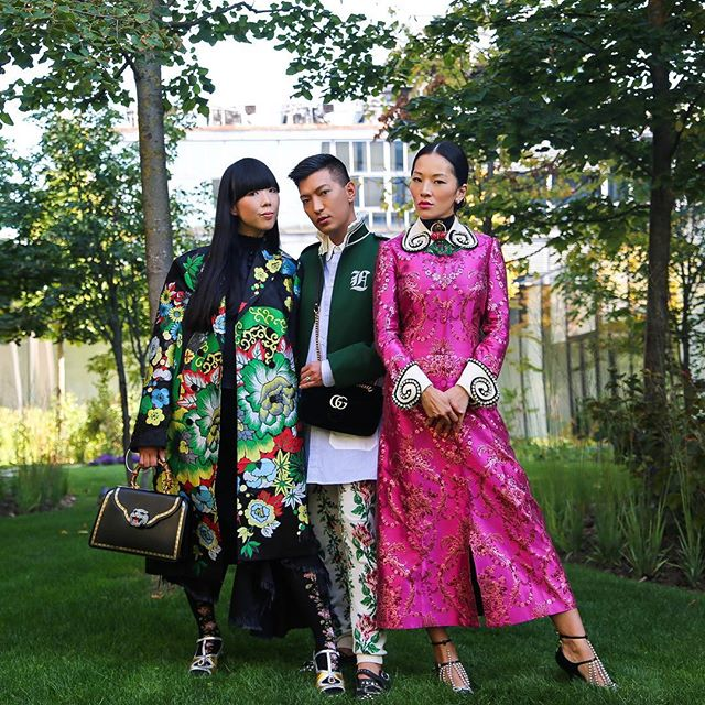 Gang of Gucci. 🌳  @susiebubble