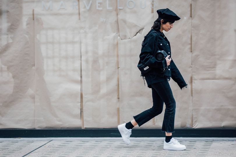 Our favorite street-style from LFW SS18 via DNAMAG