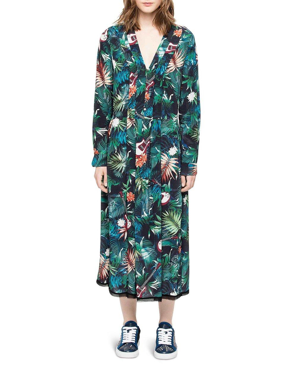 - ROUX JUNGLE DRESS $468*photo via Bloomingdales