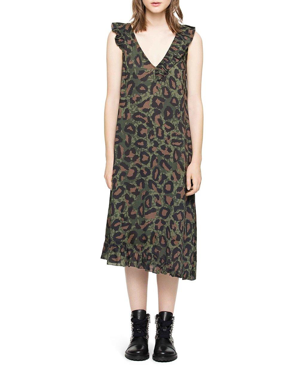 - REBELLE LEO LEOPARD DRESS $298*photo via Bloomingdales