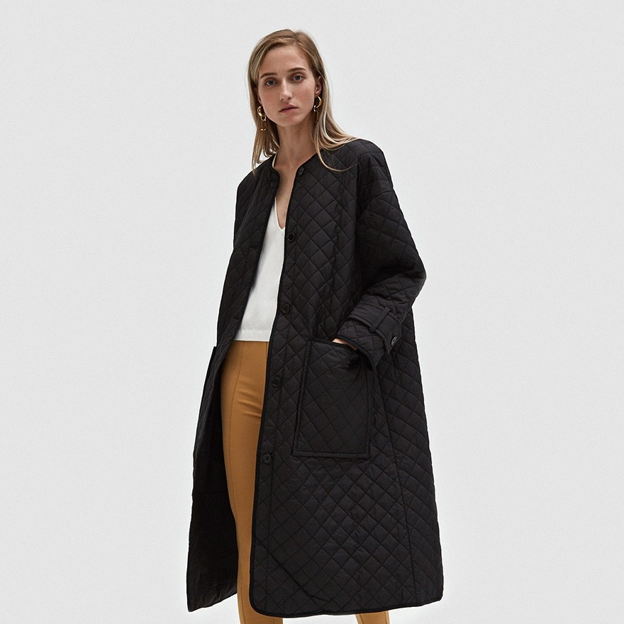 RODEBJER QUILTED COAT  -