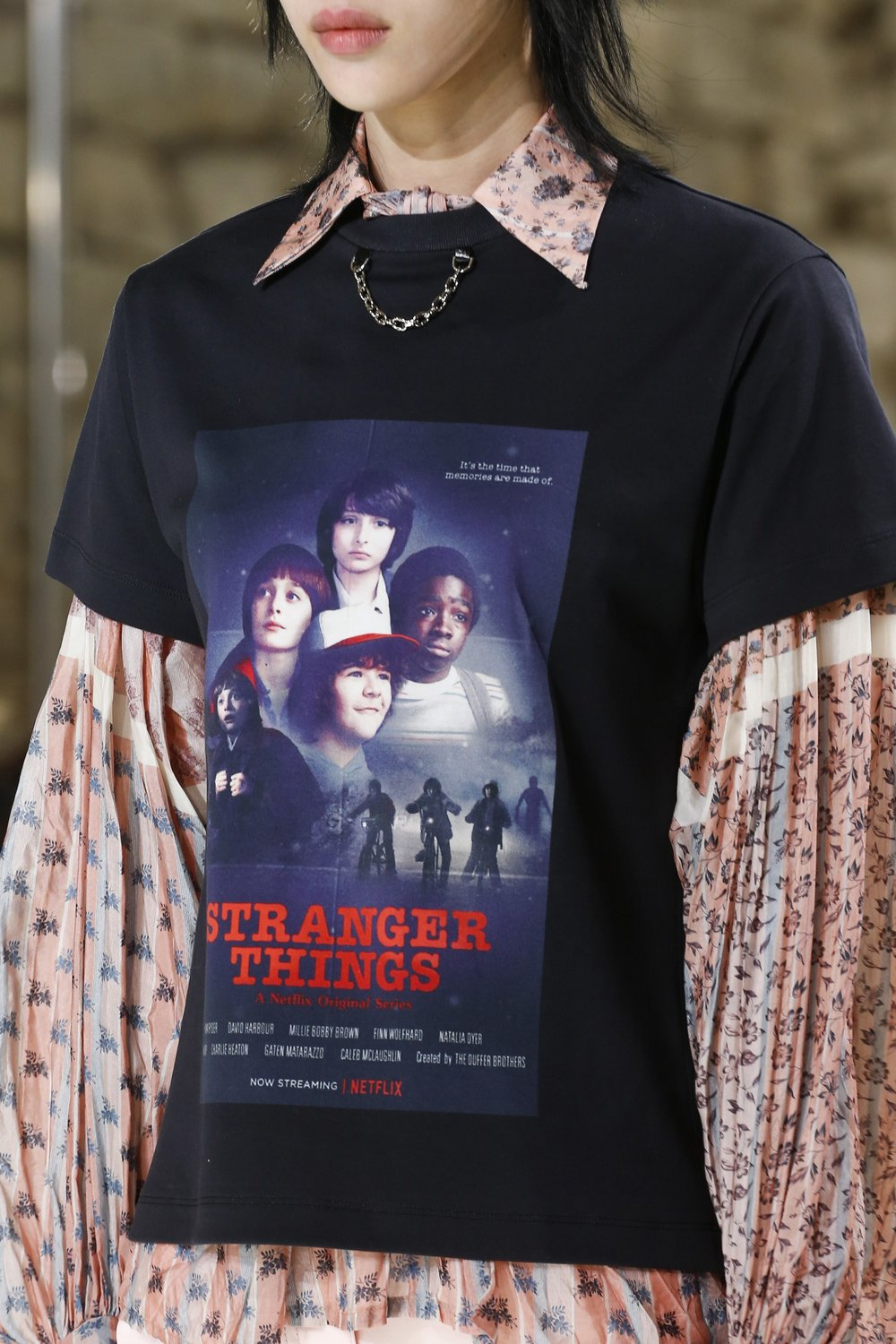 Louis Vuitton gives Stranger Things for SS18