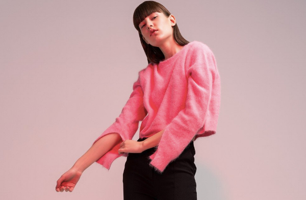 What we want: pink mohair ... via DNAMAG