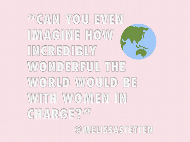 That's What She Said ... Melissa Stetten // DNAMAG