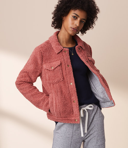 A warm and fuzzy jacket for your winter wardrobe...