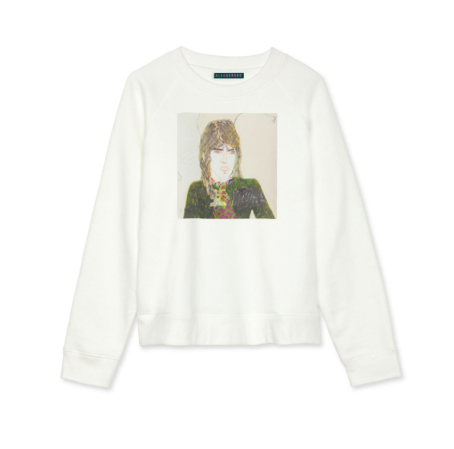 - Alexachung: 40% off everything (except jewelry) Ivory George Sweatshirt $245