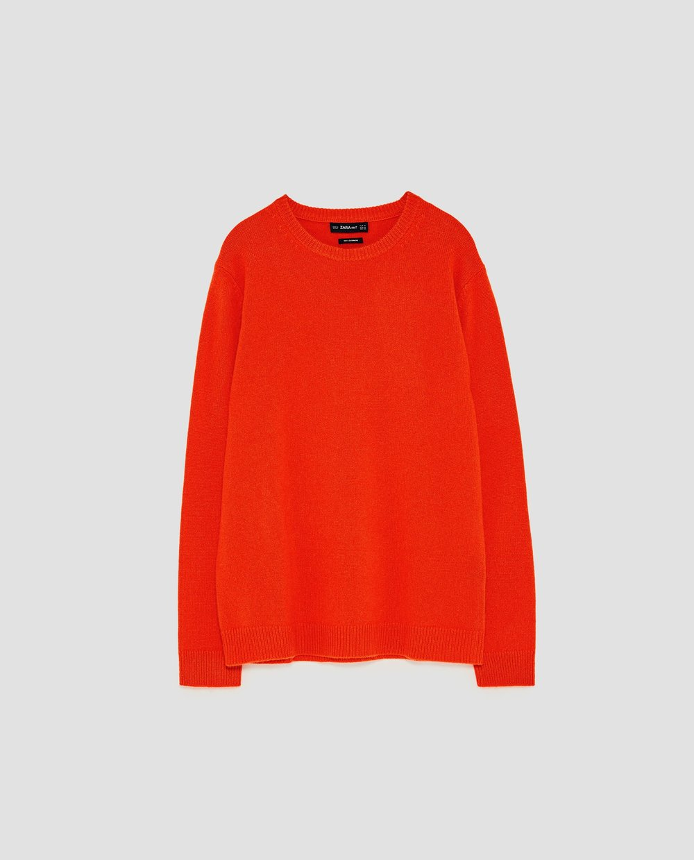 - CASHMERE SWEATER / Zara $149