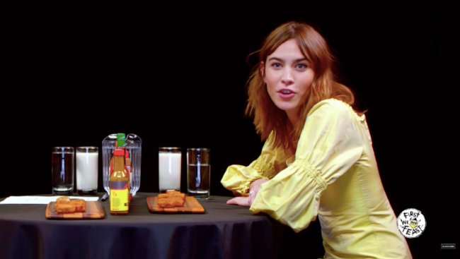 Watch Alexa Chung get super spicy ... DNAMAG