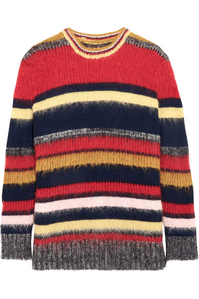 - STRIPED KNITTED SWEATER $279 (sale)
