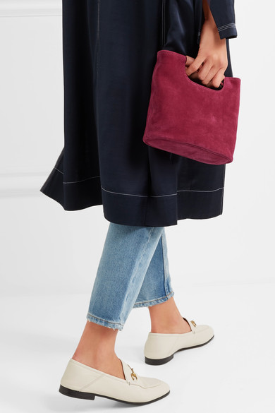 - BIRCH MINI NUBUCK TOTE was $435, now $261 / Simon Miller
