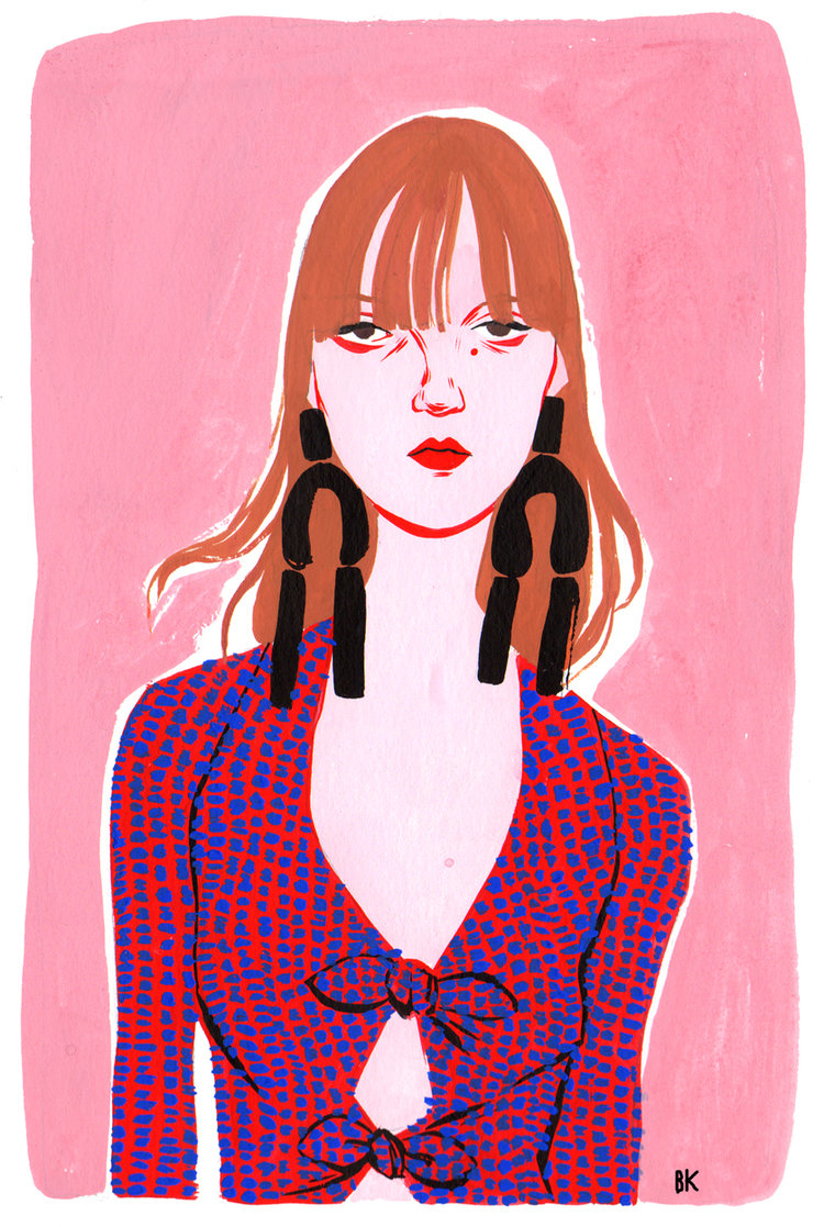 Art by Bijou Karman for Proenza Schouler // DNAMAG