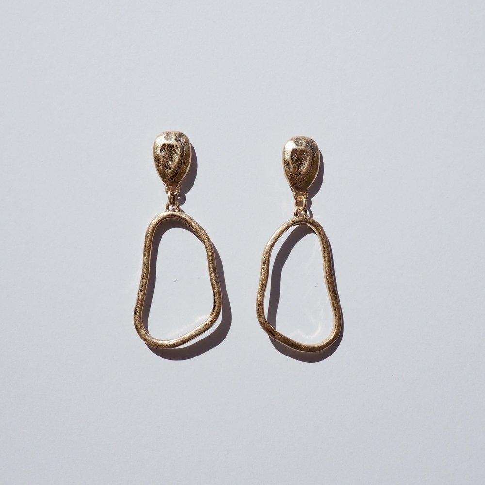 - SWIVEL EARRINGS $49 AUD