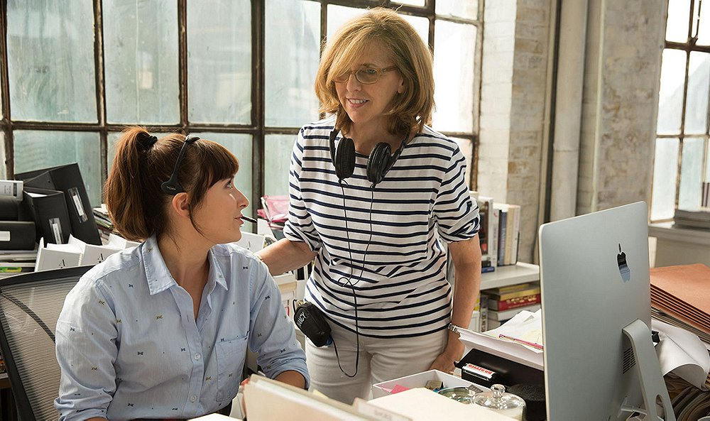 NANCY MEYERS.  - Women in Hollywood want to be in a Nancy Meyers film, because she's the woman's female director and screenwriter. She writes about women, for women. Women like us have spent many lazy Saturdays watching