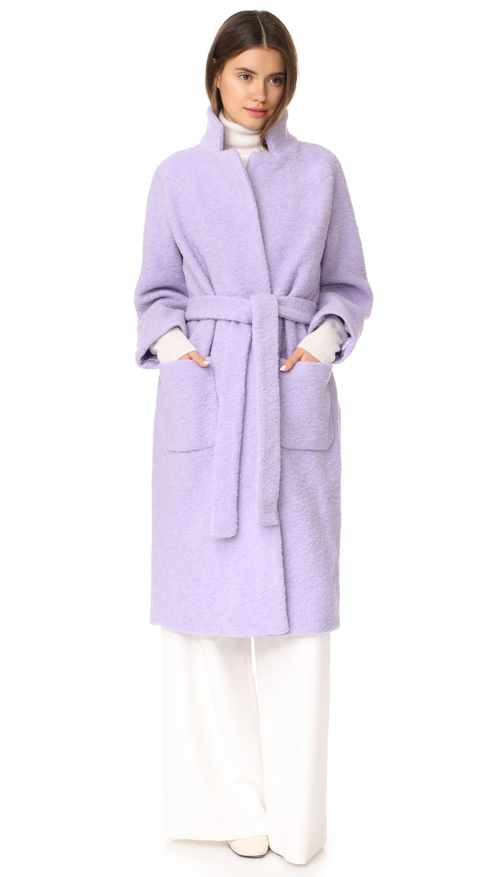 - FENN WRAP COAT / Ganni $245 (sale) available at Shopbop