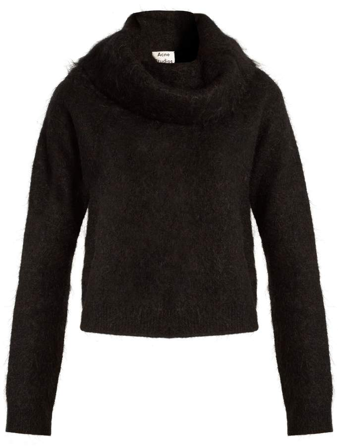 - RAZE MOHAIR-BLEND SWEATER / Acne Studios available at Matchesfashion