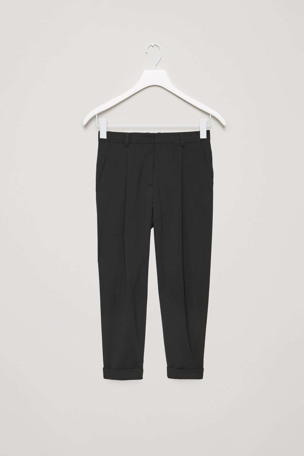 - WOOL TROUSERS WITH TURN-UPS / Cos