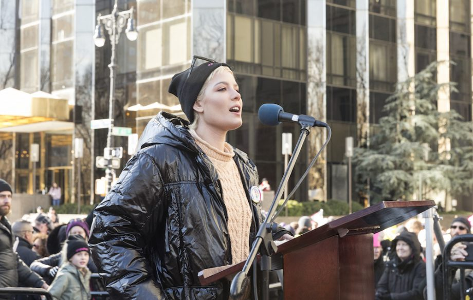 """A Story Like Mine"" watch Halsey's moving speech at Women's March // DNAMAG"