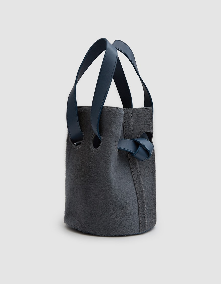 Trademark 'Goodall Bucket Bag' in slate