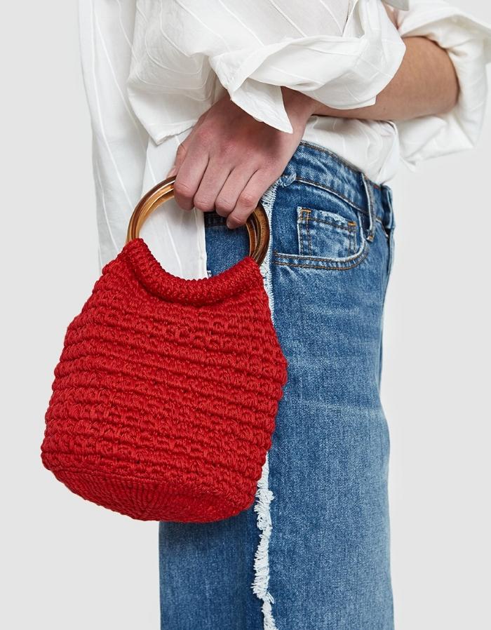 Rachel Comey 'Praia Hand Crochet Bucket Bag' // DNAMAG