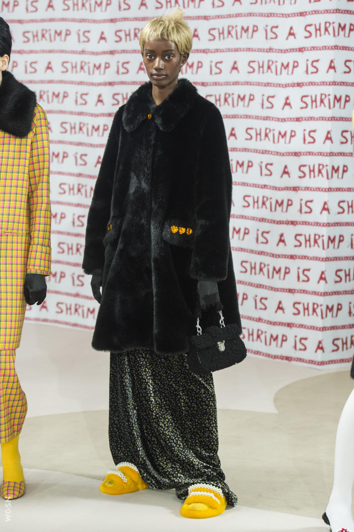Shrimps Fall 2018 LFW