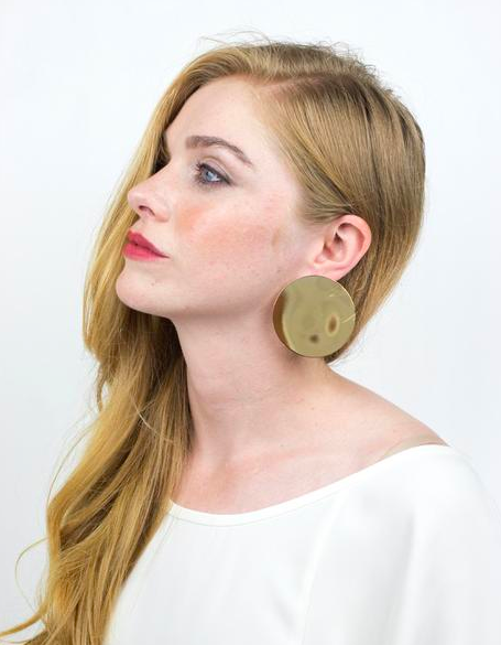 - SOLAR EARRINGS / Baleen $52