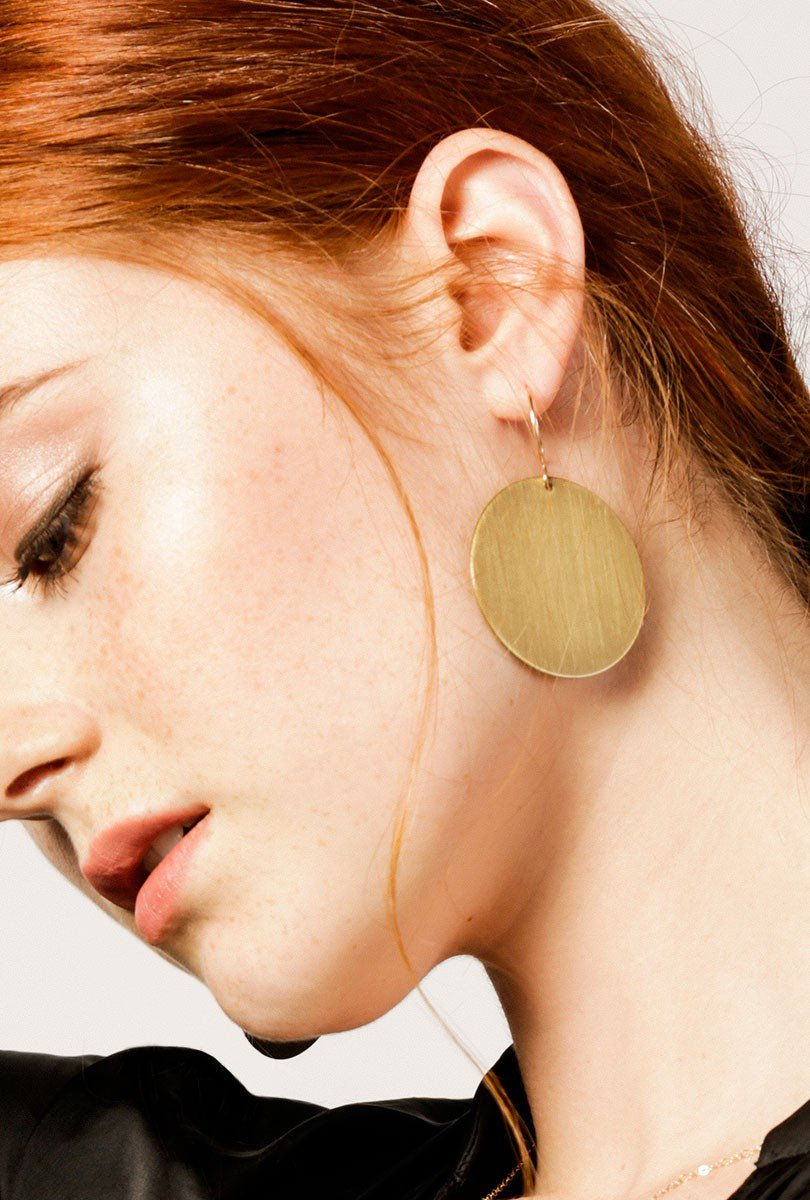 - TORUS FIELD EARRINGS / AK Studio $58 available at Azalea