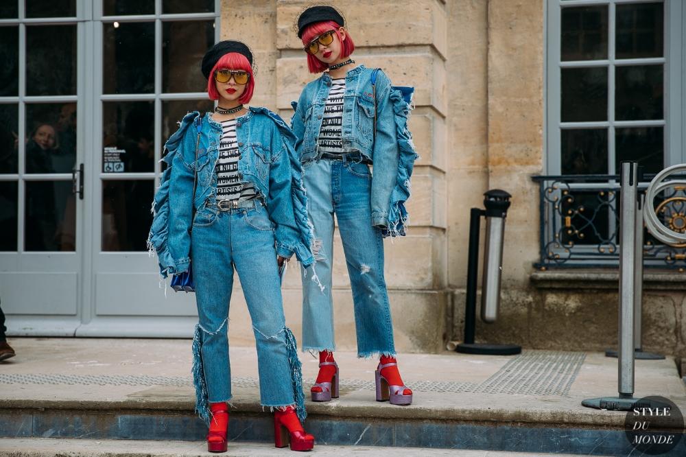 Ami and Aya (ph: Style du Monde)