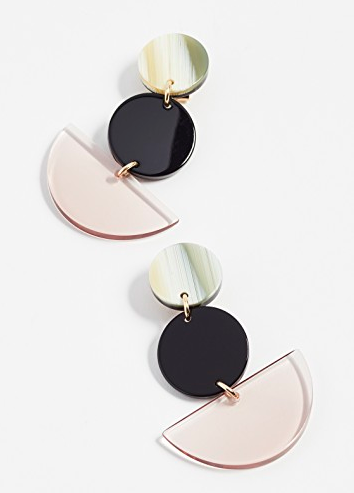 - NEALE EARRINGS / Rachel Comey $150 available at Shopbop