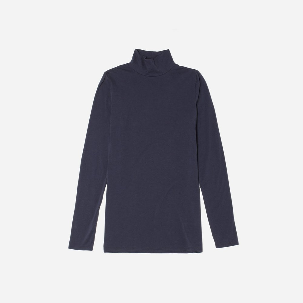 - PIMA STRETCH TURTLENECK / Everlane $30