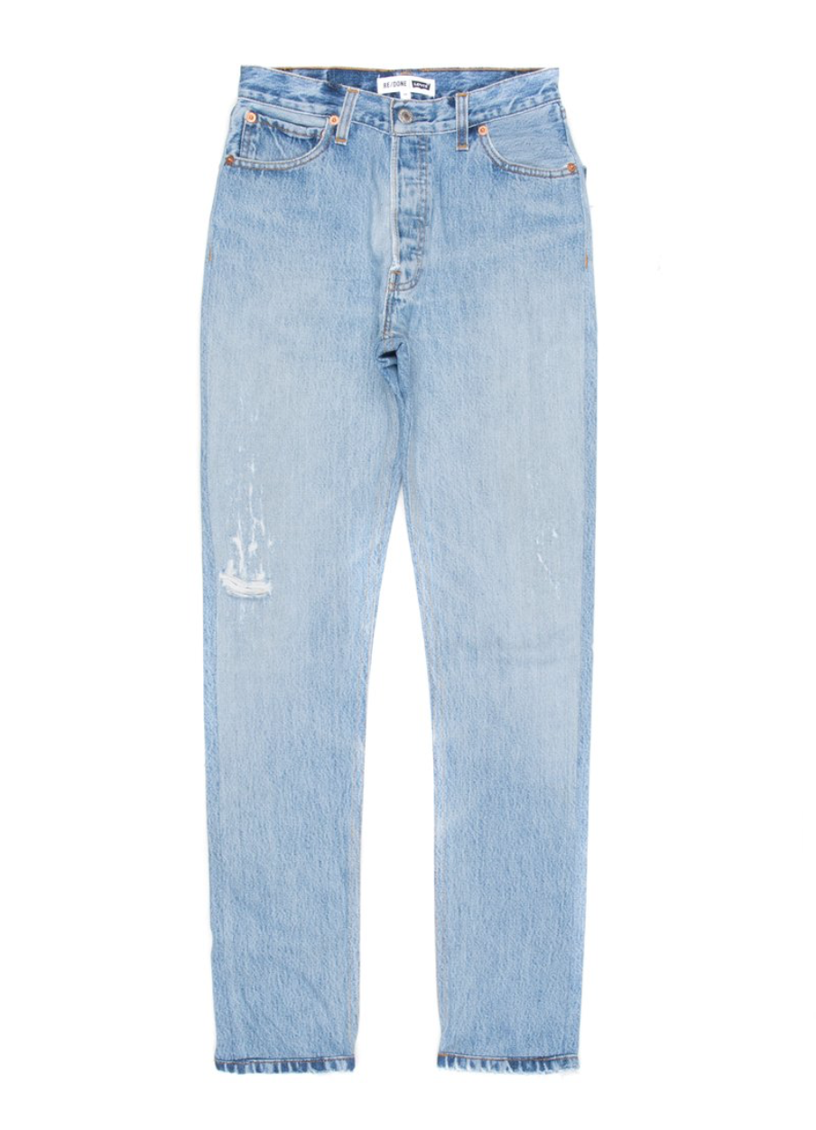 - LEVI'S STRAIGHT SKINNY DENIM / RE/DONE $301