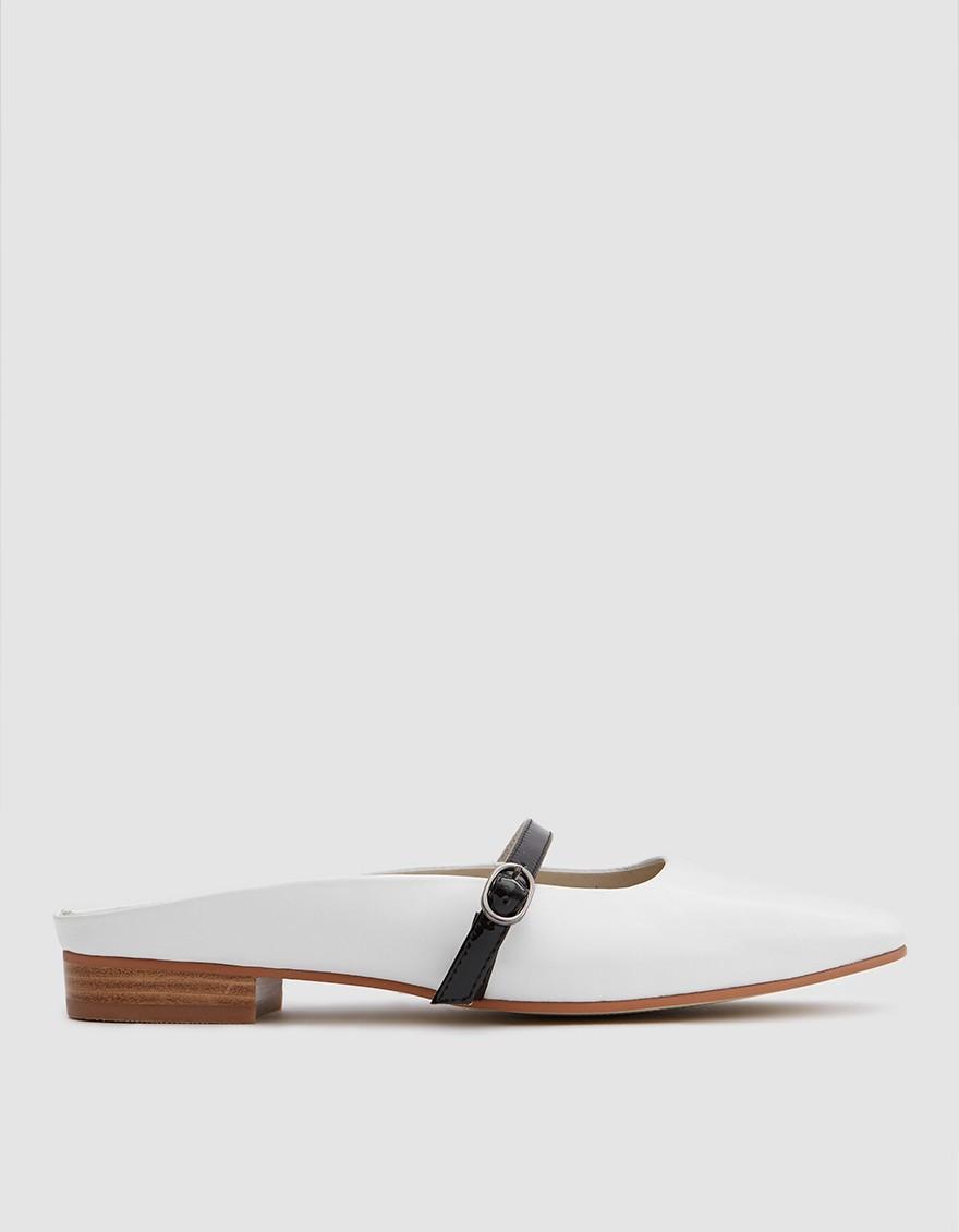 - Intentionally Blank / Inside Mule in White