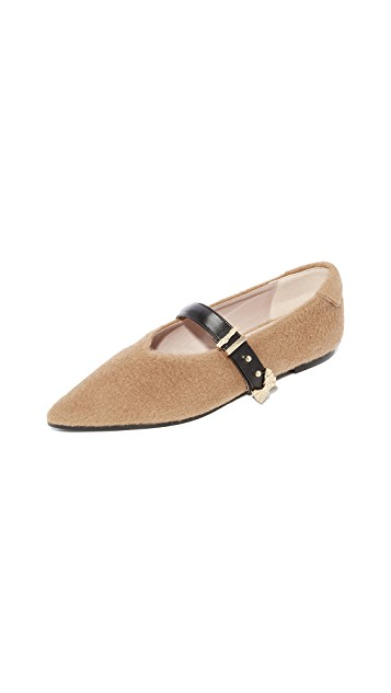 - Reike Nen / Pointed Buckle Flats