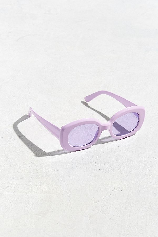 - Urban Outfitters / Chunky Squared Oval Sunglasses