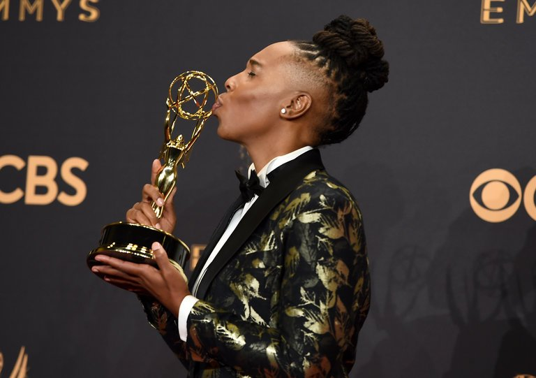 "- Her Emmy speech was real to the matter of why she does what she does: ""I love you all and, last but certainly not least, my L.G.B.T.Q.I.A. family. . . . The things that make us different, those are our superpowers."