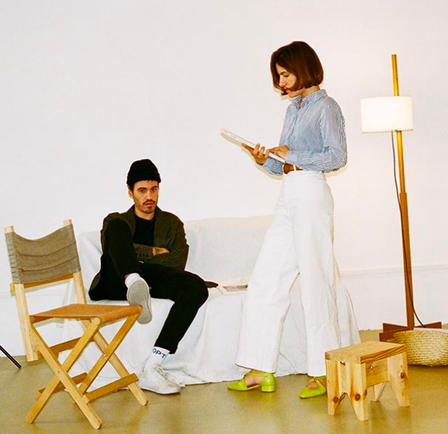 About Arianne designers: Ariadna Guirardo and Ernest Vidal (ph: Christian Colomer)