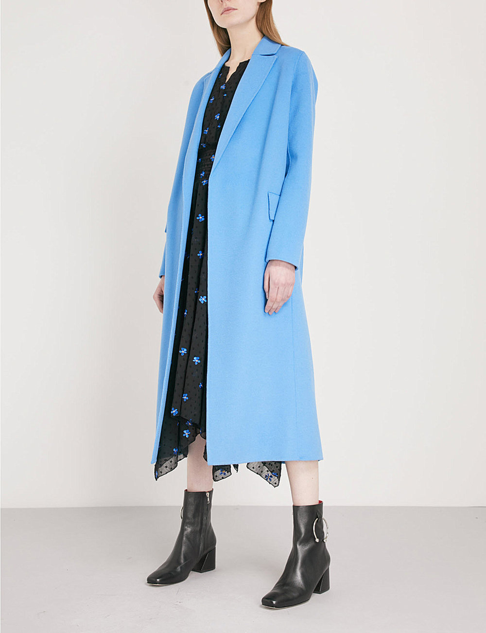 - Maje / Geode Wool Blend Coat