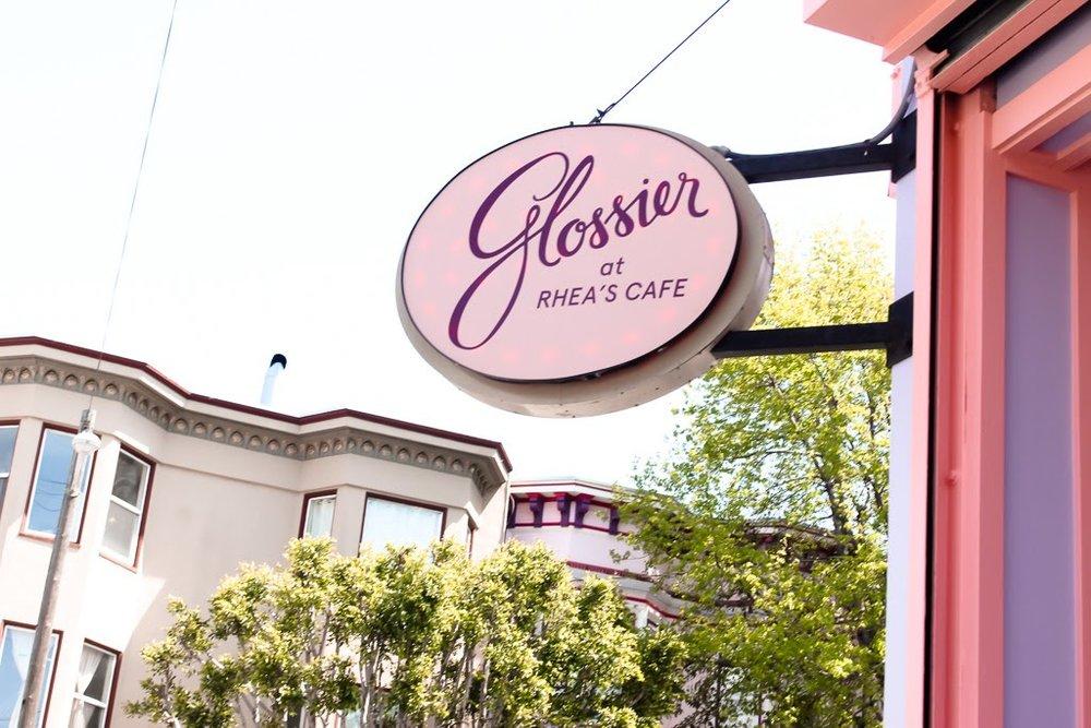 Glossier at Rhea's Cafe // DNAMAG