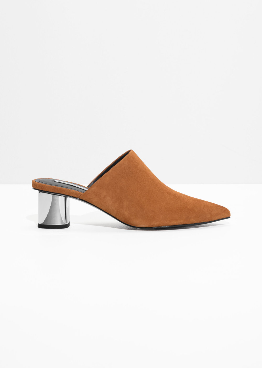 - & Other Stories / Pointed Block Heel Mules