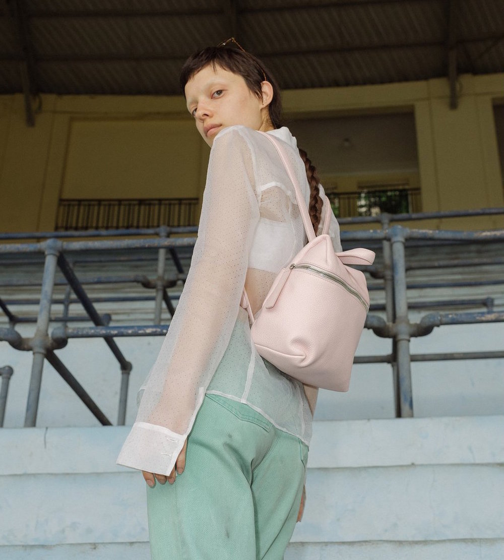 - BLUSH PINK SMALL BACKPACK / SALE $250