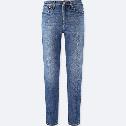 - HIGH-RISE CIGARETTE JEANS / Uniqlo $40