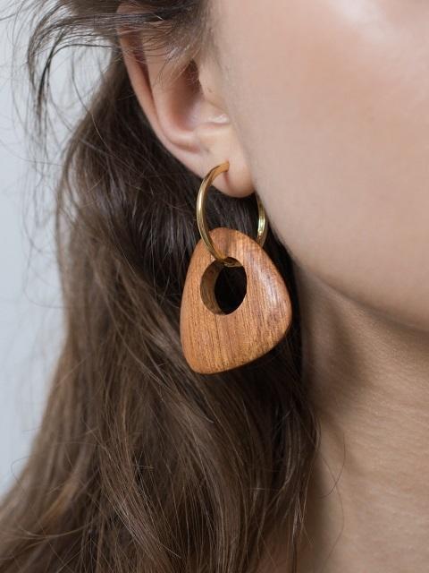 - Bae Bae / Rosales Hoop Earrings